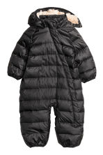 Down all-in-one suit - Black - Kids | H&M CN 1